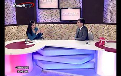 """""""Tüp Bebek Tedavisi ve Kadın Sağlığı"""" RumeliTV, Gündem Sağlık 03.05.2017"""