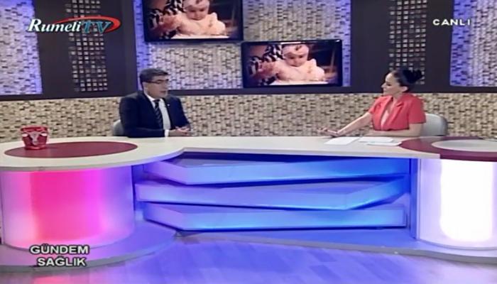 """""""Tüp Bebek Tedavisi ve Kadın Sağlığı"""" – RumeliTV, Gündem Sağlık 07.06.2017"""