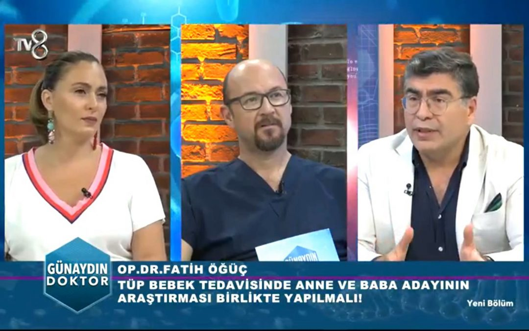 Tüp Bebek Tedavisi – TV8 – Günaydın Doktor 20.07.2018