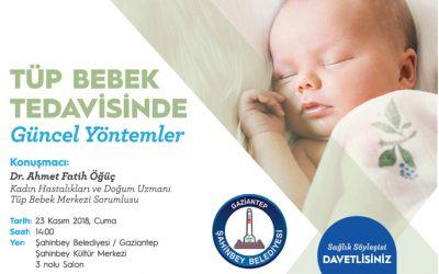 Tüp Bebek Tedavisi – Gaziantep Etkinliğimiz 23.11.2018